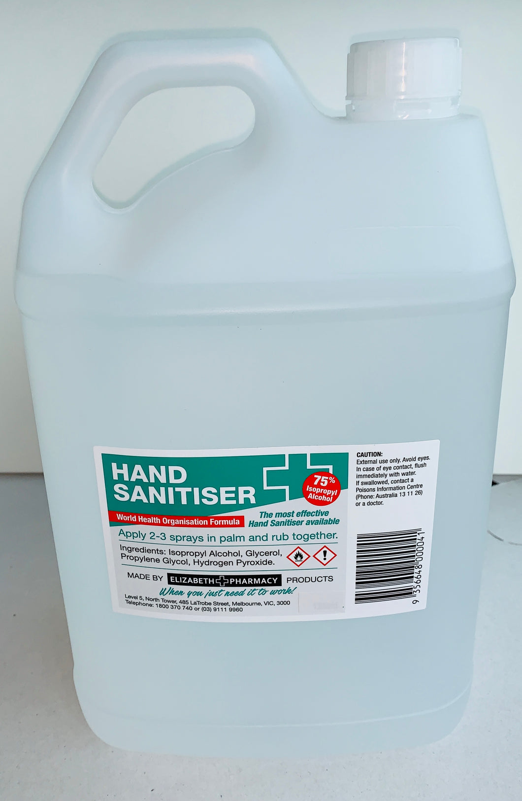 5L Hand Sanitizer