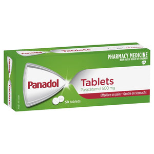 Panadol Pain Relief Tablets 500mg 50