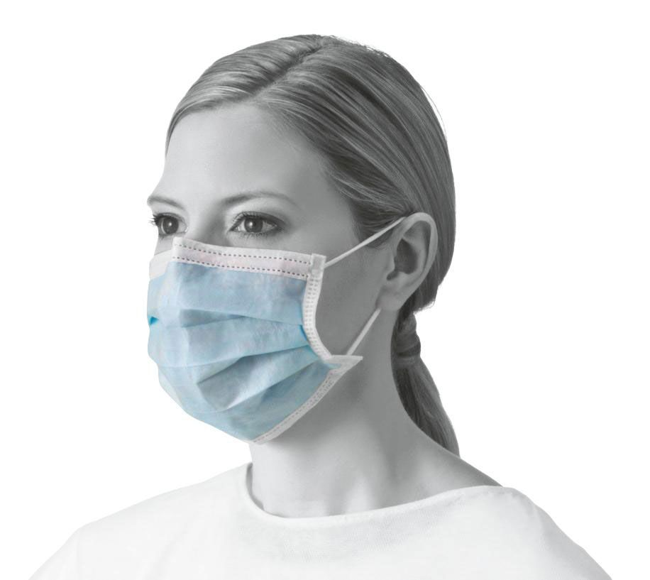 Food Preparation, Delivery, Cleaner, Non-Sterile Facemasks - Pack of 10