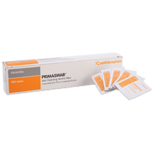 Load image into Gallery viewer, PRIMASWAB Skin Cleansing Alcohol Wipes 200 pack