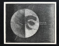 1872 Engraving Axis of Rotation of Mars