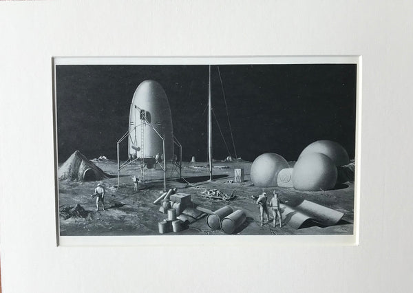 1954 The Explorers Emerge Print by RA Smith