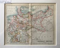1890 Map of German Empire
