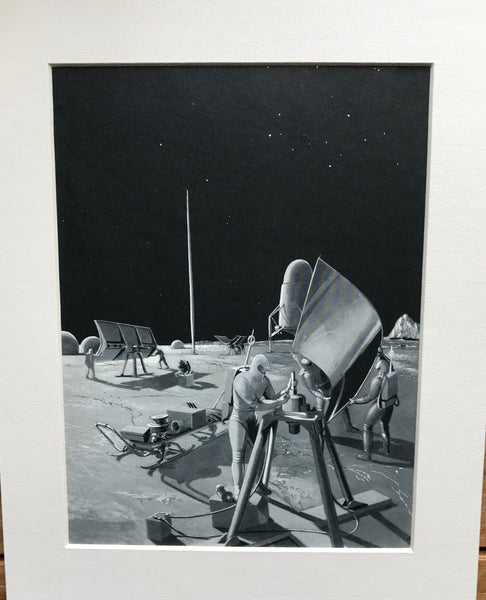 1954 Mounted Erecting Solar Generators by RA Smith.