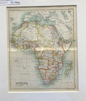 1890 Map of Africa