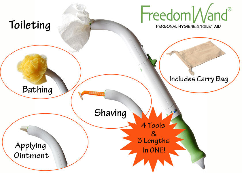 FreedomWand Personal Hygiene and Toilet Aid