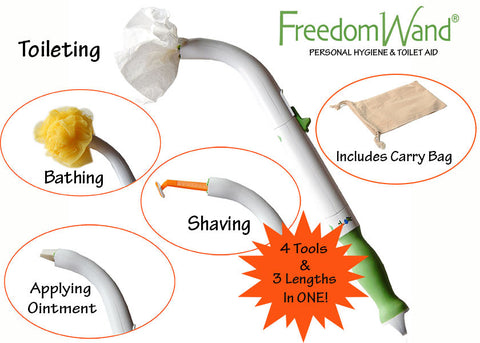 FreedomWand Toileting Aid and More