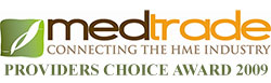 Medtrade Providers Choice Award 2009