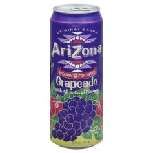 AriZona Tea Grapeade 23.5OZ Can (680ml)