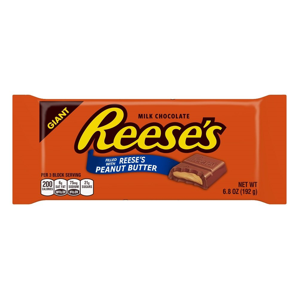 Reese's Milk Chocolate with Peanut Butter Giant Bar 6.5oz