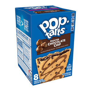 Kellogg's Pop Tarts Frosted Chocolate Chip 8 Pack 13.5oz