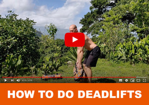 How to do deadlifts - Officially Heavy Sandbags