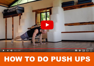 How to do push ups - Officially Heavy Sandbags