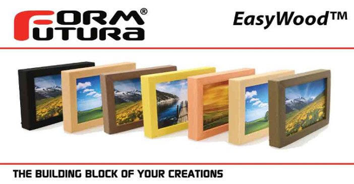 New EasyWood Colors from FormFutura