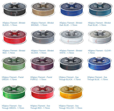 New HDGLASS Colors Now Available
