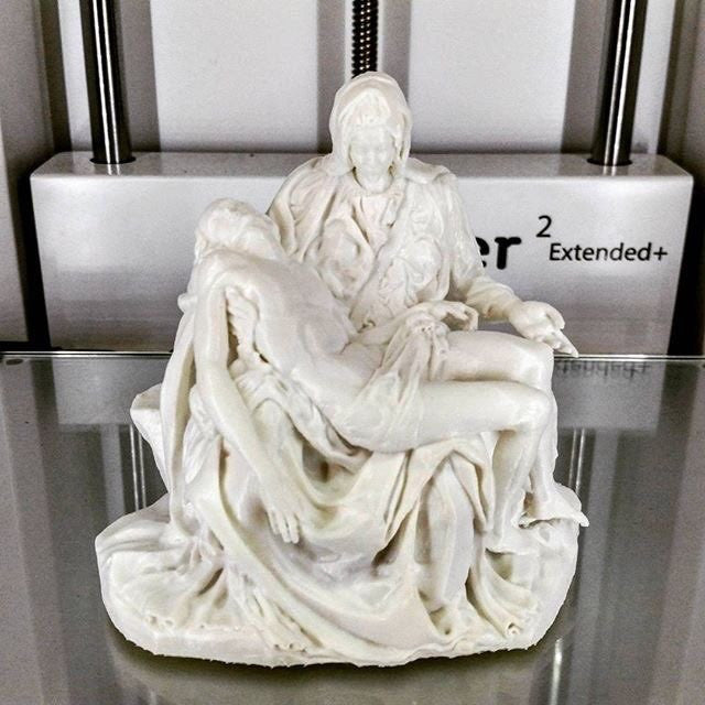 3D print of one of the greatest works of the Renaissance artist Michelangelo Buonarroti
