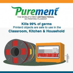 Purement Anti-Microbial PLA Filament - Buy in Canada