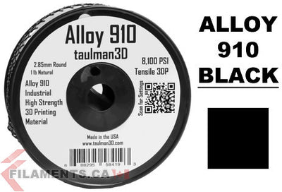 The popular Taulman ALLOY 910 is now available in Black!