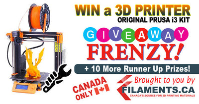 3D PRINTER GIVEAWAY FRENZY!