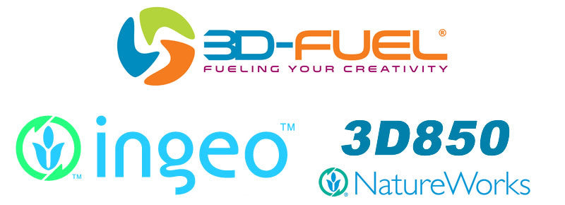 3D Fuel Nature Works Ingeo 3D850 PLA 3D Printer Filament Canada