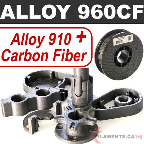 Alloy 960 Nylon – Carbon Fiber – 1.75mm