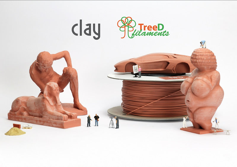 TreeD Clay Filaments Canada