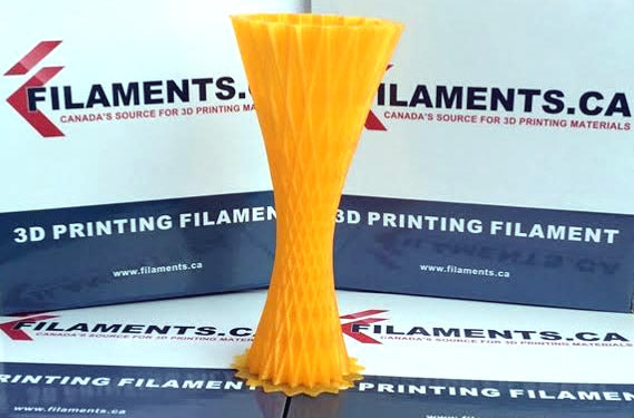 dark yellow pla 3d filament Canada