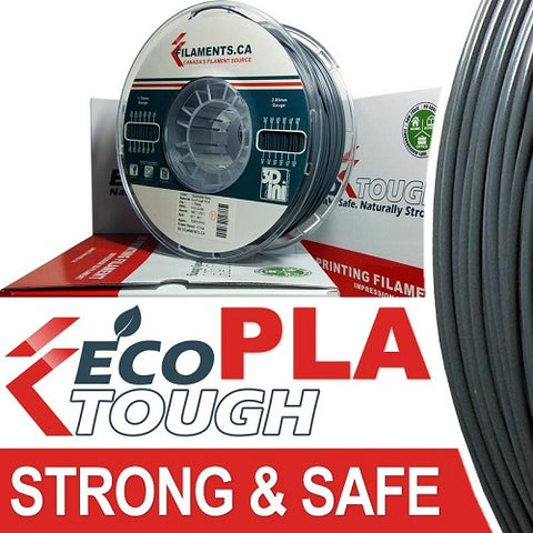 EcoTough™ PLA Filament - Gunmetal Grey - 1.75mm