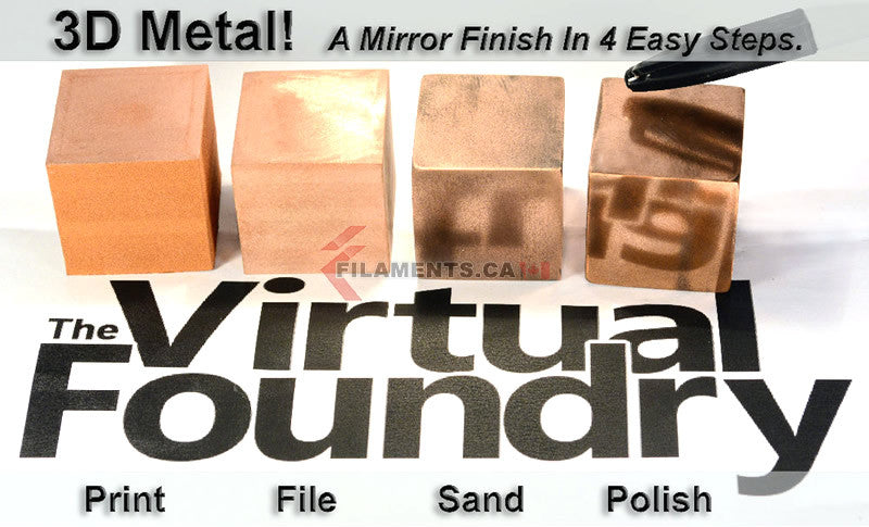 The Virtual Foundry Metal 3d Printer Filament Canada