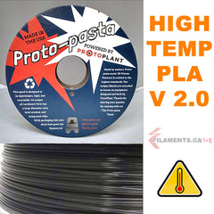 high temperature PLA v2 from Proto Pasta Canada