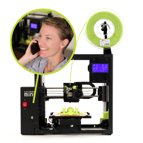 Mini 2 Lulzbot Canada 3D Printer