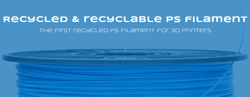 owa3d recycled PS 3d printer filament Canada