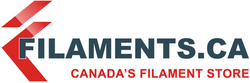 Flexible Elastomer TPE Filament - WHITE - 1.75mm | Filaments.ca