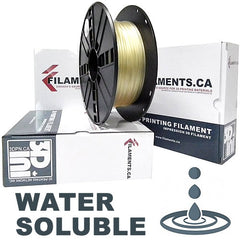 PVA water soluble support 3D printer filament Canada