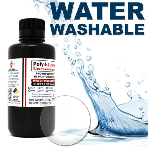 PolyJuice Water Washable Resin – Clear