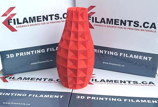 red abs 3d filament Canada