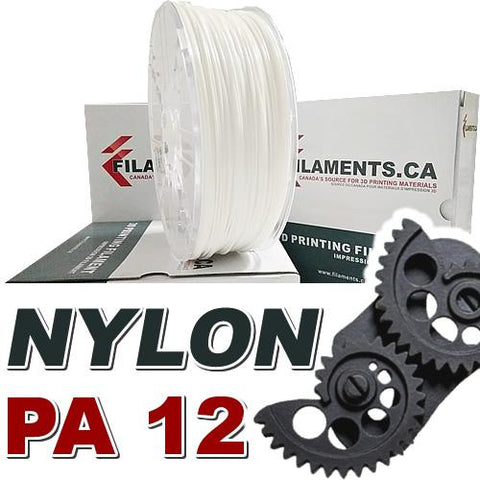 Nylon PA12 – White – 1.75mm