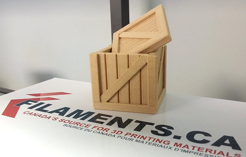 Wood 3D printer filament Canada