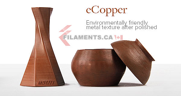 esun ecopper copper 3d printer filament Canada