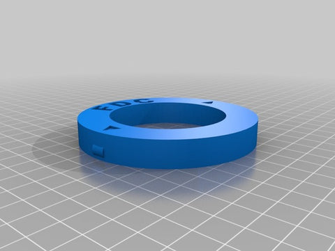 Filaments.ca Spools Adapter Inset Ring thingiverse