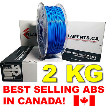 2KG ABS Filament - BLUE - 1.75mm