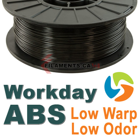 3DFuel Workday ABS 3D Printing Filament Canada