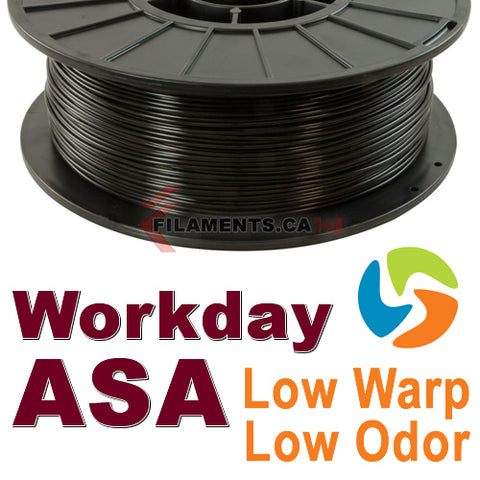 3DFuel Workday ASA 3D Printing Filament Canada