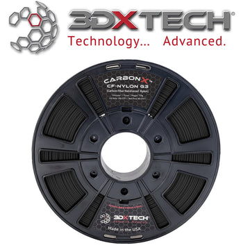 CARBONX™ Carbon Fiber Nylon (Gen 3) Filament - Black - 1.75mm