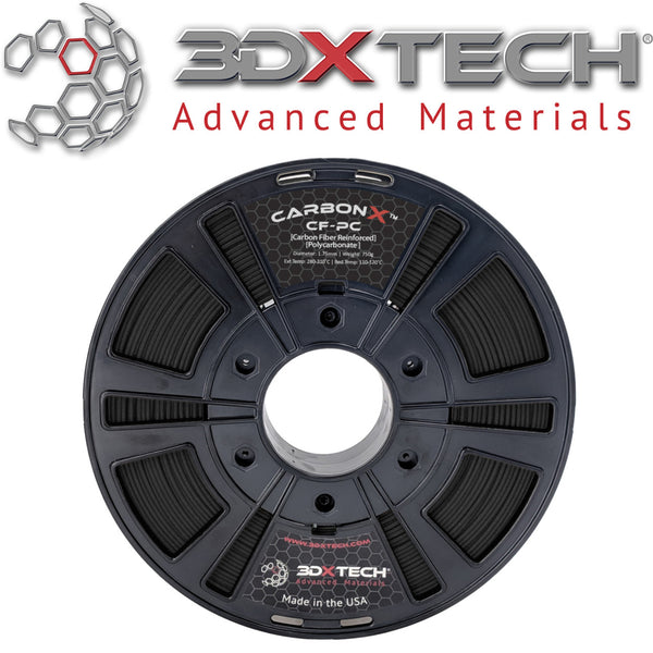 3DXTech CarbonX PC Carbon Fiber Filament Canada