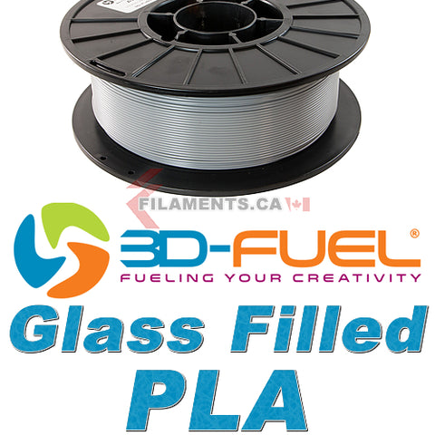 Glass Filled PLA - Industrial Grey - 2.85mm