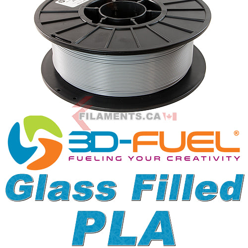Glass Filled PLA - Industrial Grey - 1.75mm