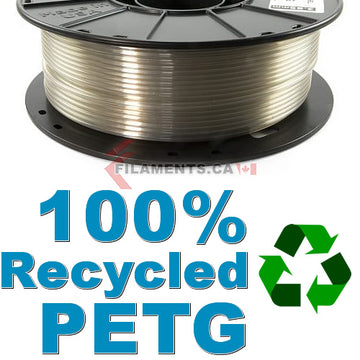 3DFuel rPETG - 100% Recycled PETG - Natural - 2.85mm