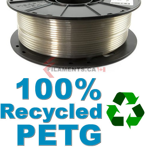 3dfuel rpetg 100% recycled petg 3d printer filament Canada
