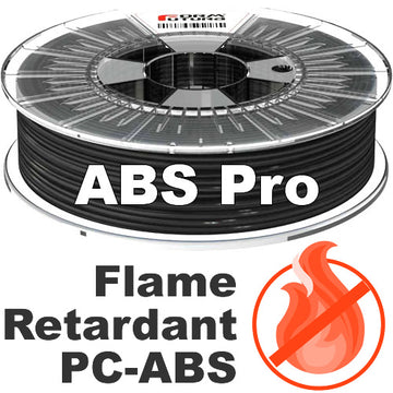 ABSpro Flame Retardant - Black - 1.75mm